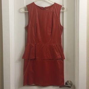 Piko 1988 Faux-Leather Dress
