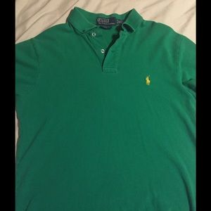 7ec254b7f Polo by Ralph Lauren Shirts - Ralph Lauren Polo SS Shirt Green with Yellow  Horse