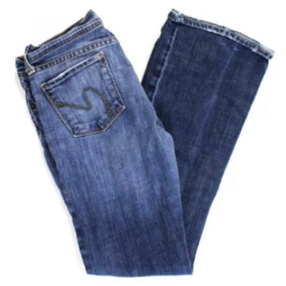 Citizens of Humanity Denim - CITIZENS OF HUMANITY BLUE FLARE JEANS SIZE 26