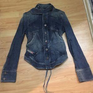 Diesel Jackets & Blazers - Denim Diesel jacket