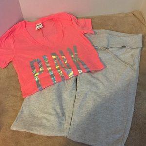 VS Pink T-Shirt size XS- shirt only