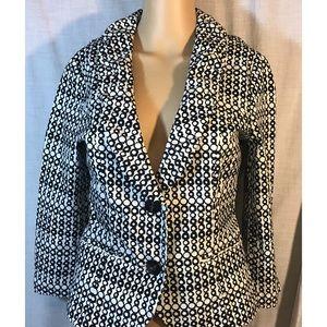 CAbi Jackets & Blazers - Cabi black/white blazer style # 298