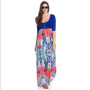 LAST ONE!! Boho Maxie Dress