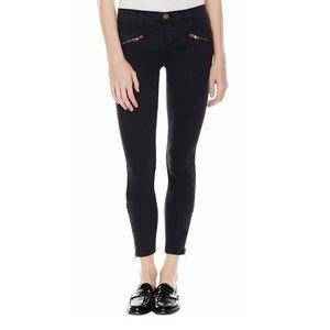 soho zipped stiletto in washed black