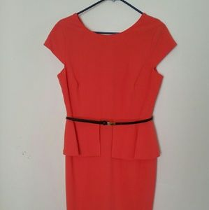 Peplum Pencil Dress* w/ belt!