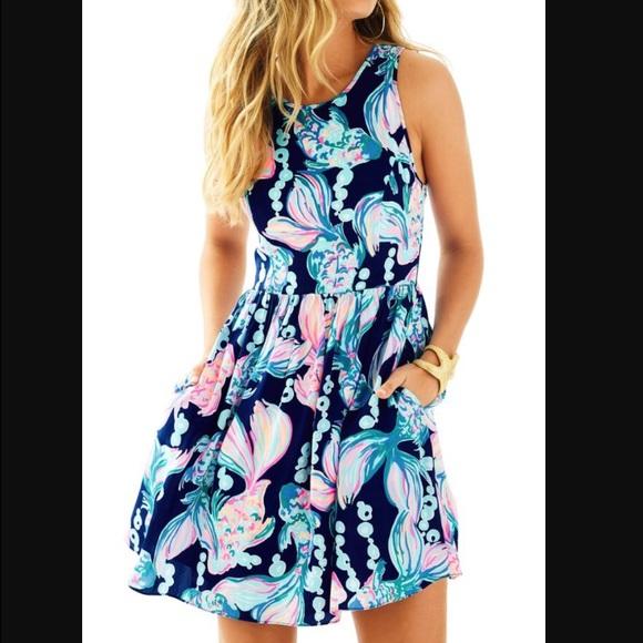 1bf3a196941c49 Lilly Pulitzer Dresses | Iso Going Coastal Kassia Dress | Poshmark
