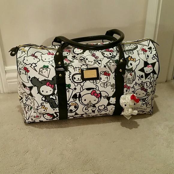 4b06c0676 Tokidoki Hello Kitty weekender bag. M_581965902599fec761040afc