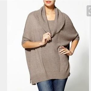 Hive & Honey Sweaters - Hive & Honey Cowl Neck Dolman Sleeve Sweater