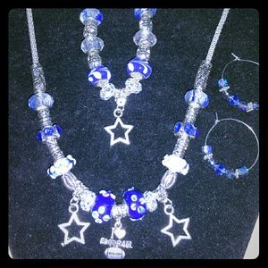 Jewelry - Necklace and bracelet and earrings set