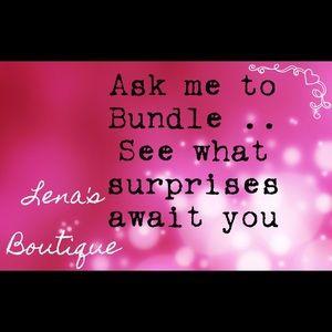Ask Me To Bundle..,