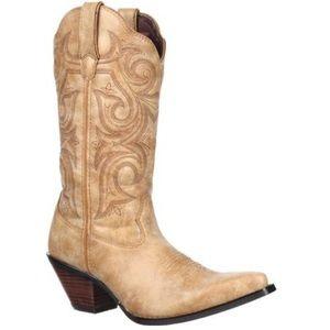 Durango Shoes - Scallupped Cowboy boots