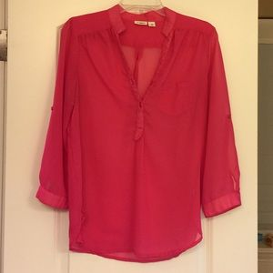Cato size M. Sheer blouse.