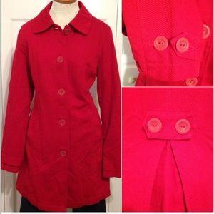 Merona Red Coat