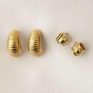 Jewelry - Gold-tone Earring Set