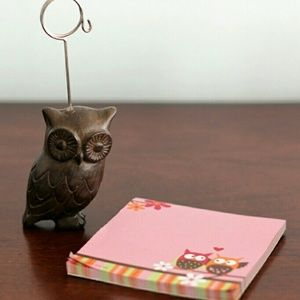 Owl Stationary Set