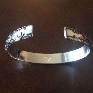 Avon Jewelry - Vintage Avon Silver Bangle