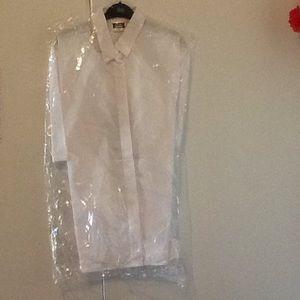 LOVELY  5--SIMON jersey WHITE Blouse  $40 Each