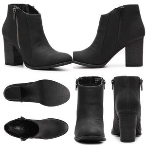 "Diba Shoes - Diba ""Tracey"" Zipper Bootie"