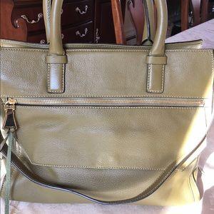 Aimee Kestenberg New Pebble Leather Tote Satchel