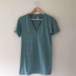 Tops - FINAL ✂️ American Apparel Tri Blend Track Shirt