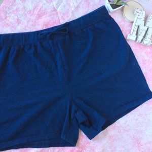 Motherhood Maternity Stretch Navy Shorts