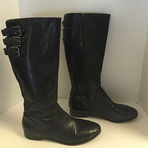Rebecca Minkoff Rogan grommet leather tall boots