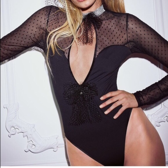 7963186a97e Victoria's Secret Intimates & Sleepwear | Vs Lingerie Catsuit Teddy ...