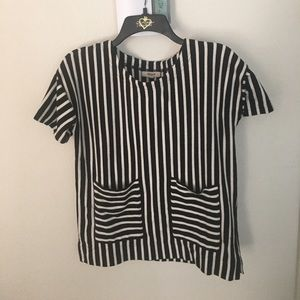 Madewell thick striped Tee
