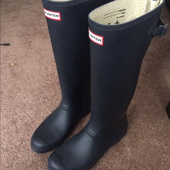 Hunter Shoes - Hunter Women s Original Back Adjustable Rain Boots 1036afa6e5