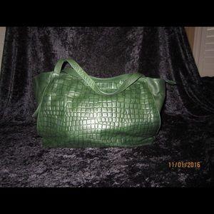 Italian all leather handbag