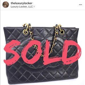 100% authentic Chanel grand shopper tote GST