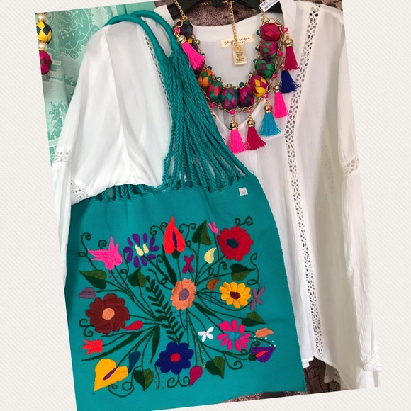 Off cielito lindo handbags mexican floral