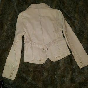 Wilsons Leather Jackets & Blazers - Soft Ivory Wilson Leather Jacket