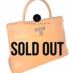 Hermes Handbags - 100% AUTH Hermes Kelly 35cm Retourne w strap
