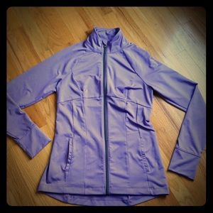 Under Amour Fitted Jacket Lavender Sz M