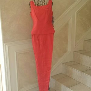 Jessica Howard Tops - Coral Top and Pant Set