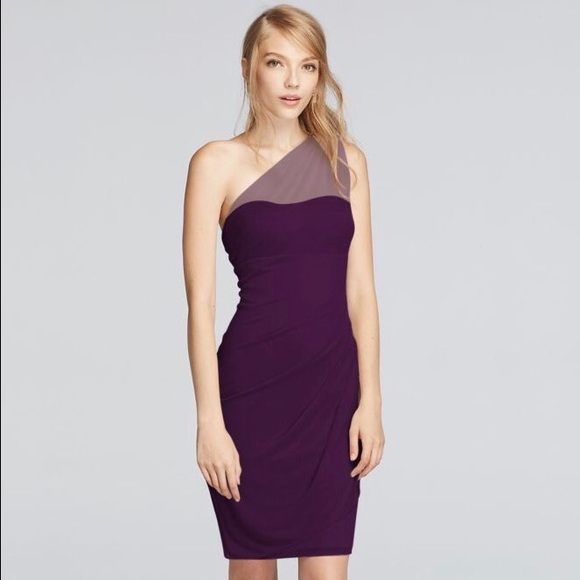 64539eaa27a David s Bridal Dresses   Skirts - short cocktail or bridesmaid dress - plum