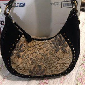 The Sak Pink label handbag