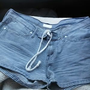 MOTHER Pants - Mother TIE- ME-UP SHORTS