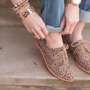 DV by Dolce Vita Shoes - Dolce Vita DV Mini Cheetah Oxfords