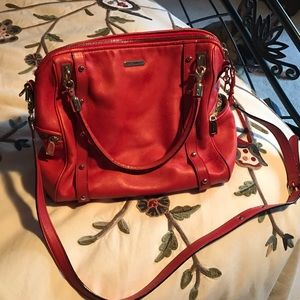 Rebecca Minkoff Red Satchel bag