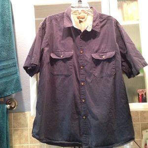Old Glory Other - Men's blue casual shirt