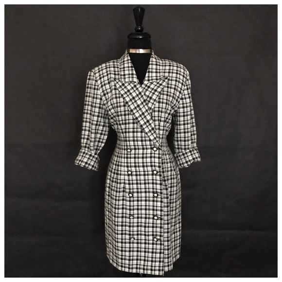 La Belle Dresses & Skirts - LaBelle Brand Checkered Dress