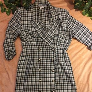La Belle Dresses - LaBelle Brand Checkered Dress