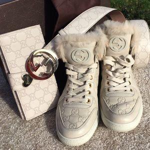 Gucci Shoes - ❤️️FINAL PRICE❤️️Gucci Guccissma Fur Coda Sneakers