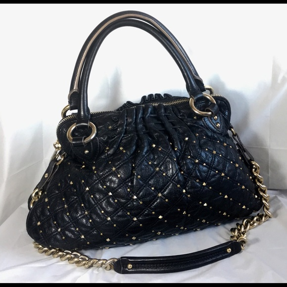 bd67682bbd4 Marc Jacobs Bags | Black Stardust Cecilia Bag Euc | Poshmark