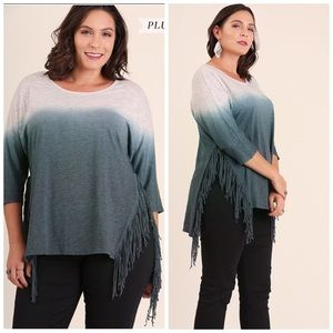 Tops - ✅✅ONE DAY SALE✅✅Midnight Fringe Top✅✅