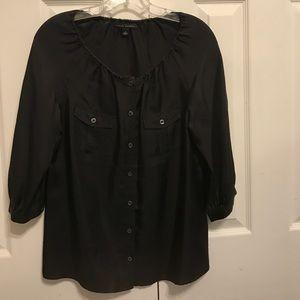 J Crew 100% silk blouse