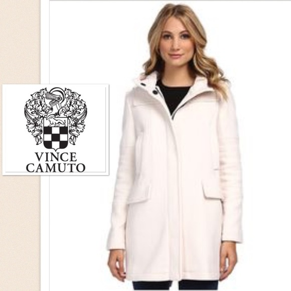 80% off Vince Camuto Jackets & Blazers - Vince Camuto Winter White ...