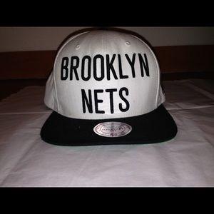 Mitchell & Ness Other - Brooklyn Nets NBA Mitchell & Ness Adjustable Fit